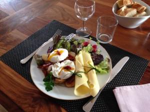 Assiette diner la Ferme du bois Paris